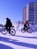 Велосипеды зимой :: катания
