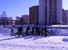Велосипеды зимой :: группа энтузиастов