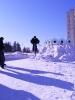 Велосипеды зимой :: прыг