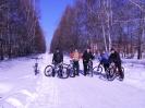 Велосипеды зимой :: портрет